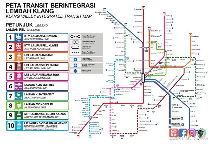 kl-MRT Map