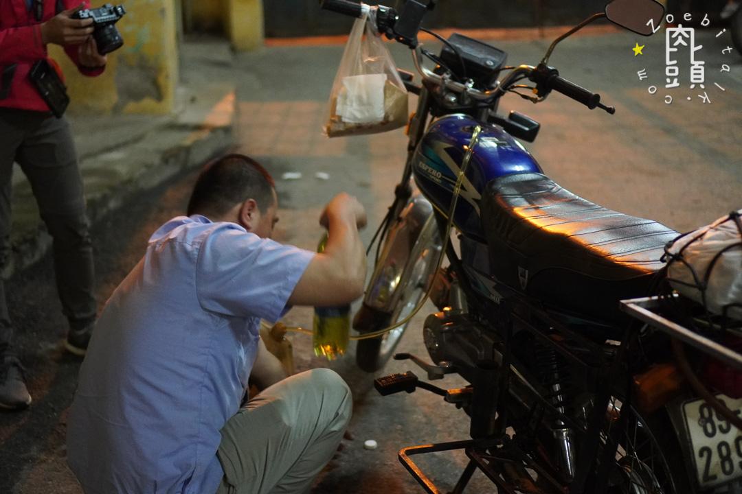 vietnam send bike with train 3