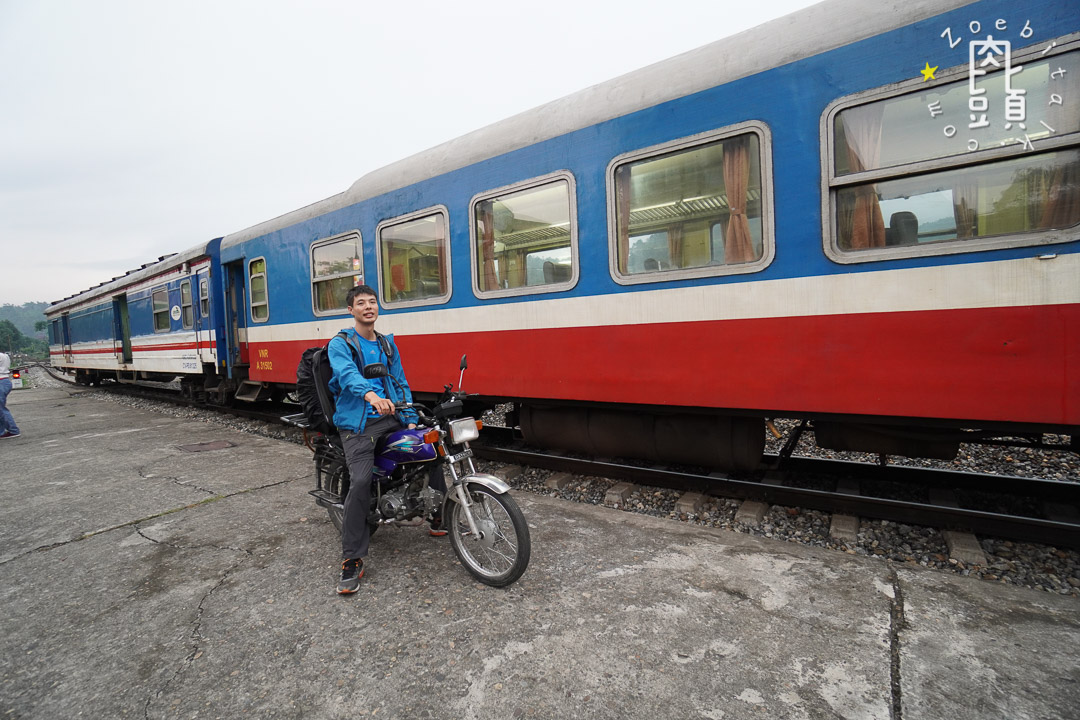 vietnam send bike with train 7