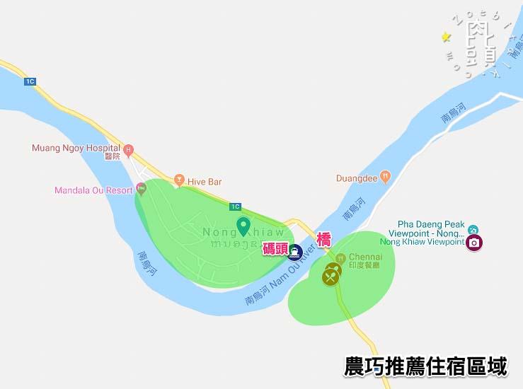 nong khiaw map 3