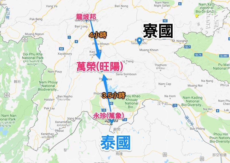 vang vieng map 2