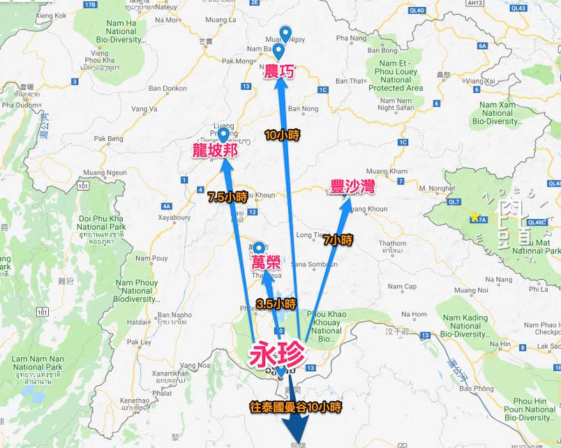 vientiane map 2