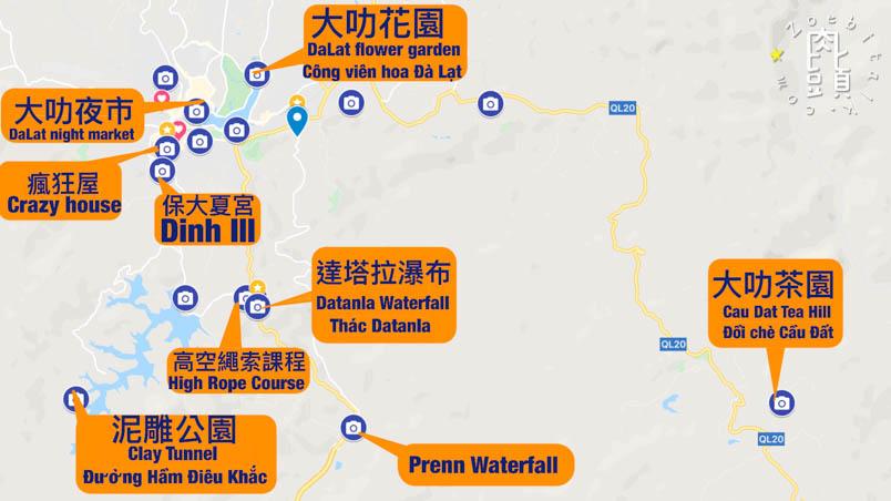 dalat map 1