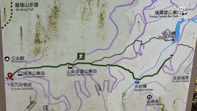 jiufen sanjian luilanglu trail 20