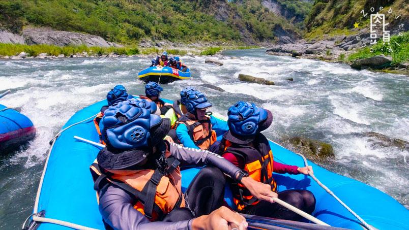 white water rafting xiuguluan river2 2