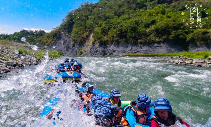 white water rafting xiuguluan river2 6
