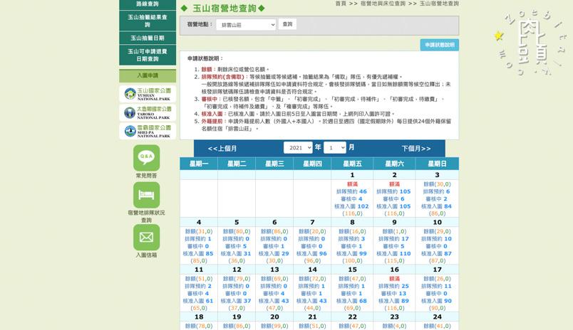 yushan info 3