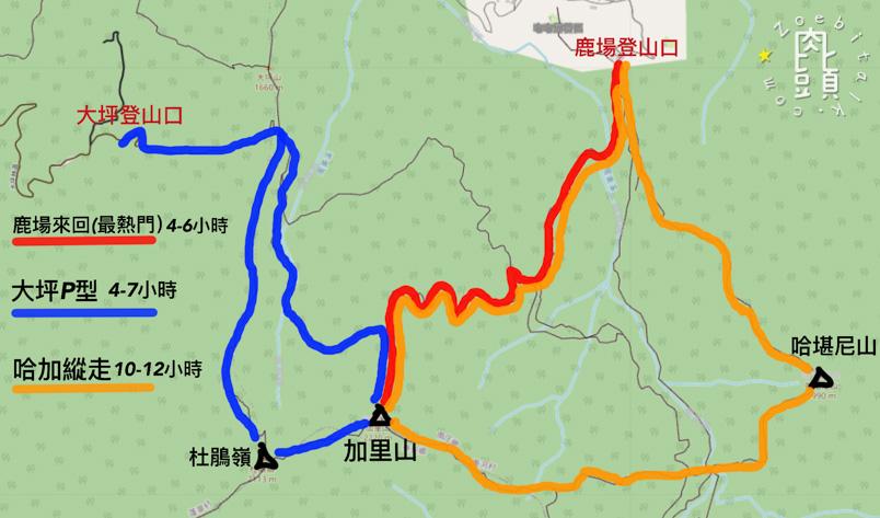 miaoli jialishan map 1